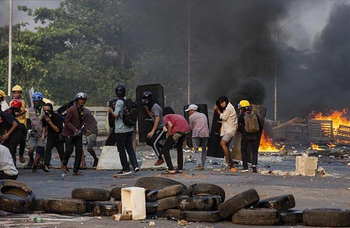 Myanmar'daki 'acımasız şiddet'e BM'den kınama