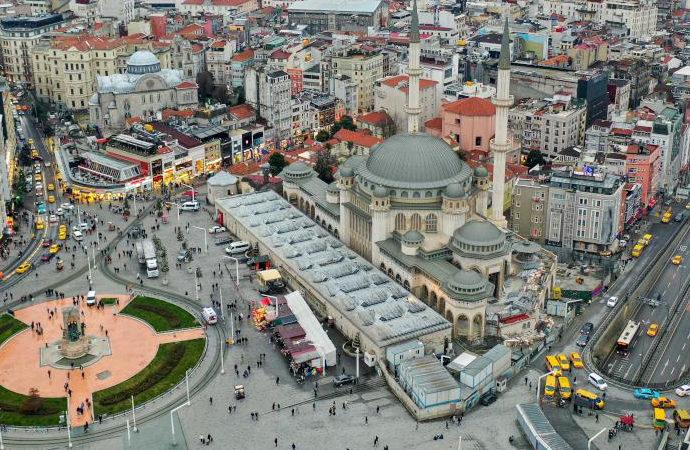 Taksim'de yeni cami ramazanda açılacak