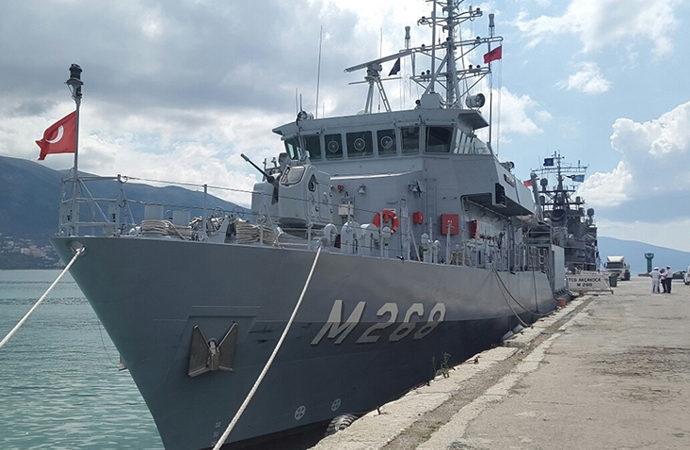 Türk gemileri NATO kapsamında Ukrayna'da