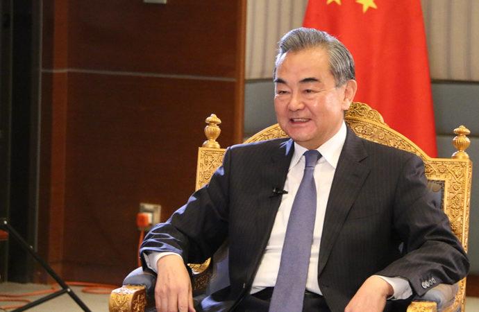 Uygurlar, Wang Yi'nin Türkiye ziyaretini protesto etti