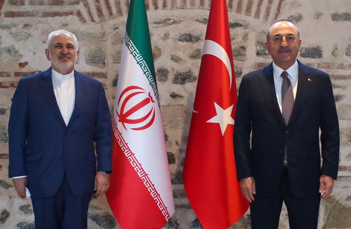 Çavuşoğlu-Zarif görüşmesine MİT Başkanı Fidan da katıldı