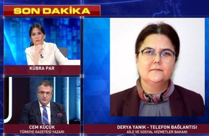 Yeni Aile Bakanı ilk açıklamasını Habertürk'e yaptı, kadın erkek eşitliği vurgusu yaptı