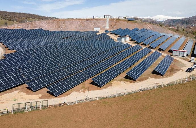 Giresun'a son 2 yılda 1500 kilovatlık 3 güneş enerjisi santrali