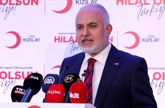 Kızılay Başkanı Kınık, Ramazanda yapılacak yardımları anlattı