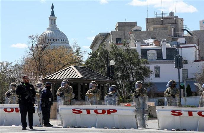 Kongre binası önündeki saldırıya Biden'dan tepki