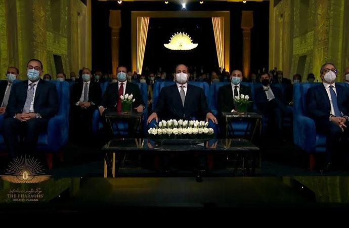 Firavun mumyaları için devlet töreni