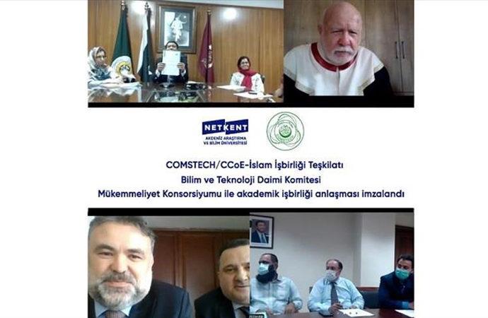 Netkent Üniversitesi ile İslam İşbirliği Teşkilatı iş birliği anlaşması