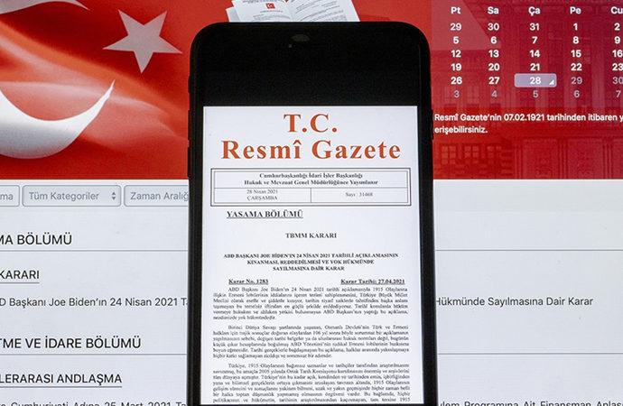 Devlet Memurları Disiplin Yönetmeliği, Resmi Gazete'de