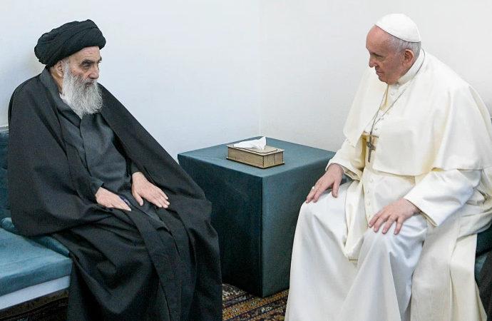 Papa – Sistani görüşmesi ve 'Dinlerarası Diyalog' projesi