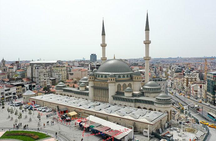 4 yıldır inşaatı süren Taksim camii ramazanda açılacak