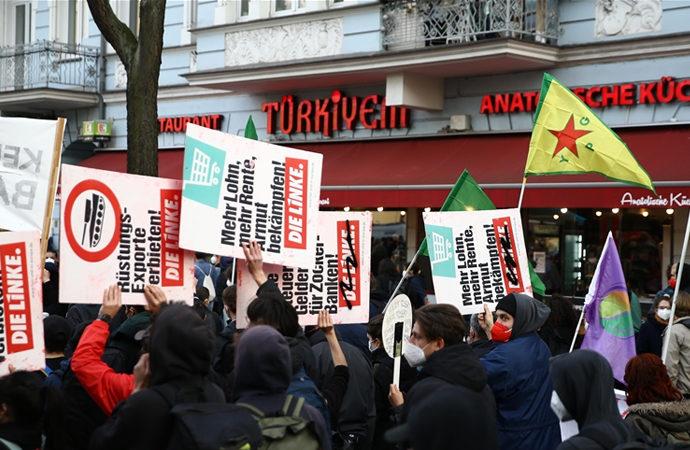 Almanya'da 1 Mayıs gösterilerinde çatışma