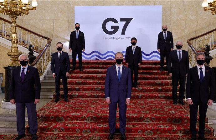G7 Dışişleri Bakanları 27 sayfalık ortak bildirge açıkladı