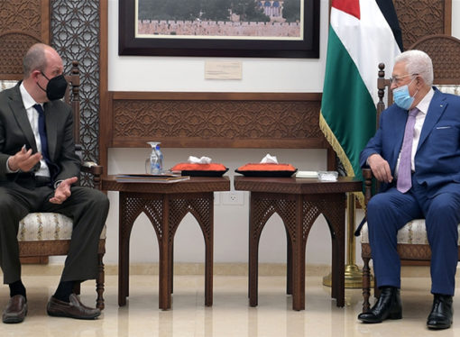 ABD Temsilcisi Amr, Abbas'ı ziyaret etti