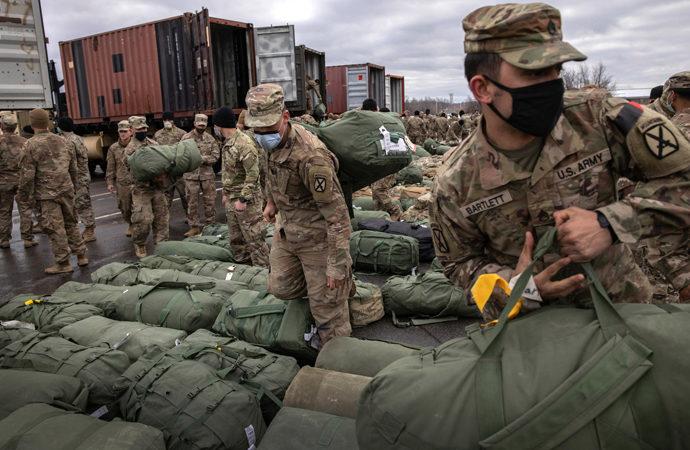NATO liderliğinde Afganistan'da kimin kaç askeri var?