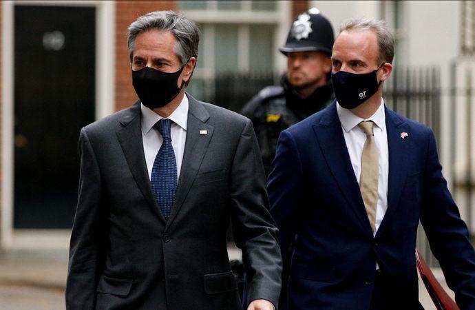 G7 Toplantısı Londra'da yüz yüze başladı