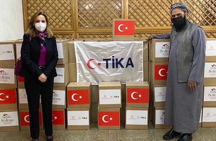 TİKA ve Erenler Sofrası, Şili'ye yardım götürdü