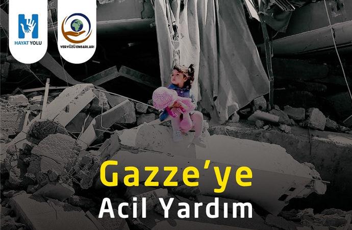 Gazze'ye acil yardım kampanyası