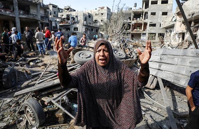 47'si çocuk, 29'u kadın 174 Filistinli şehid