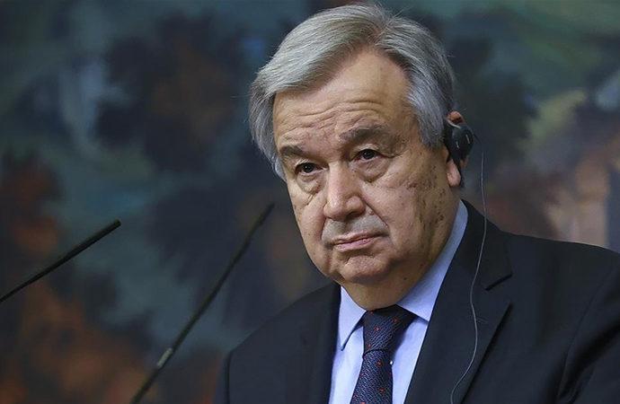 Guterres, 5 asıl üyeyi toplantıya çağırdı
