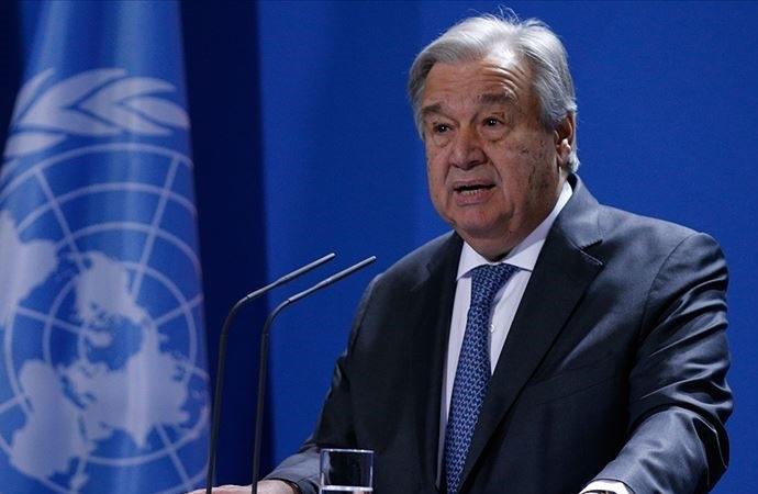 Guterres'ten 'Bayram hatırına gerginliği azaltın' çağrısı