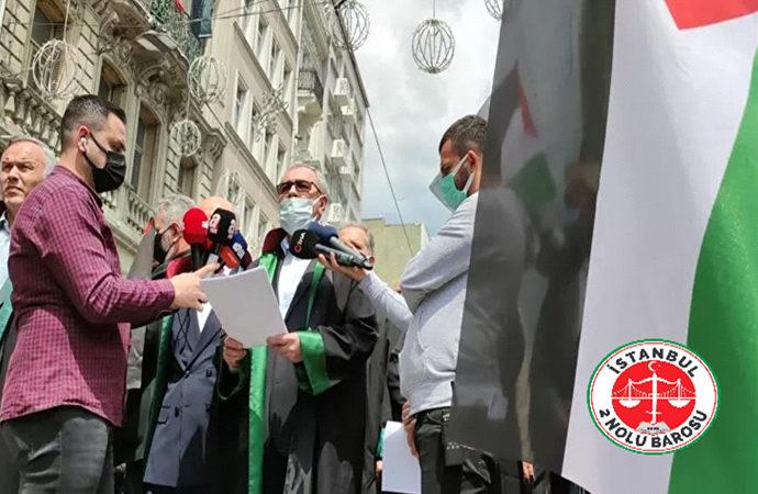 Hukukçulardan protesto: İsrailli yetkililer UCM'de yargılanmalı