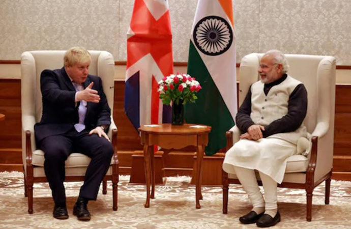 İngiltere ile Hindistan arasında anlaşmalar