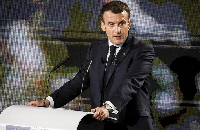 Macron'un sözlerine, Fransız askerlerin görüntüleri ile yanıt verdiler!