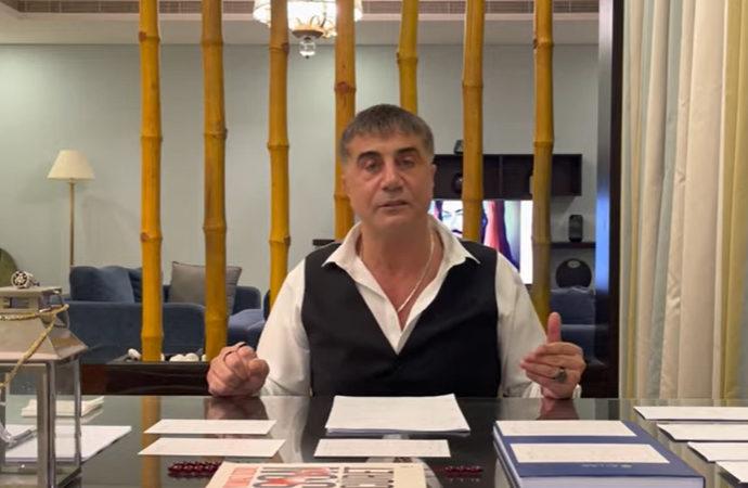Cumhuriyet Başsavcılığı Sedat Peker'e dava açtı