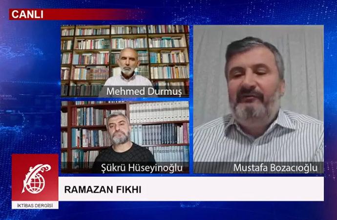 """""""Ramazan fıkhı"""" canlı yayında tartışıldı"""