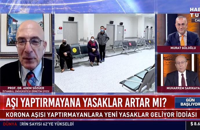 Prof. Adem Sözüer: Genelgelerle olmaz, kanun çıkarmak gerekir