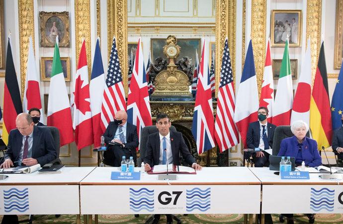 """G7 devletleri """"çokuluslu şirketlere"""" vergi kararı aldı"""