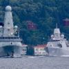 Karadeniz'de İngiliz savaş gemisine Rus uçağından ateş