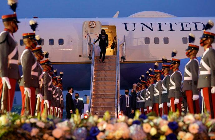 ABD Başkan yardımcısı, Guatemala'yı 'ziyaret' etti