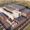 TUSAŞ'ın rüzgar tüneli tesisinin yapımı sürüyor