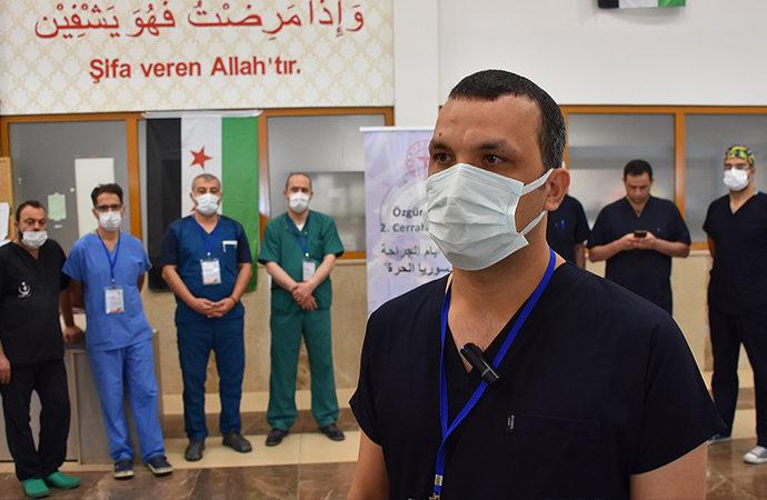 Türkiye'den hekimler Suriye'de tecrübelerini paylaşacak