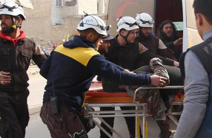 Suriye rejiminden İdlib kırsalına saldırı