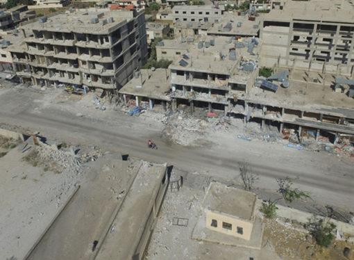 Esad rejimi güneydeki Dera'da bir mahalleye askeri operasyon başlattı