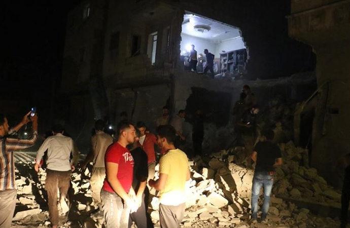 Esad rejiminden bayramı öncesi Bab'a saldırı