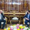 Erbil'de IKBY Başbakanı Barzani ile görüşme