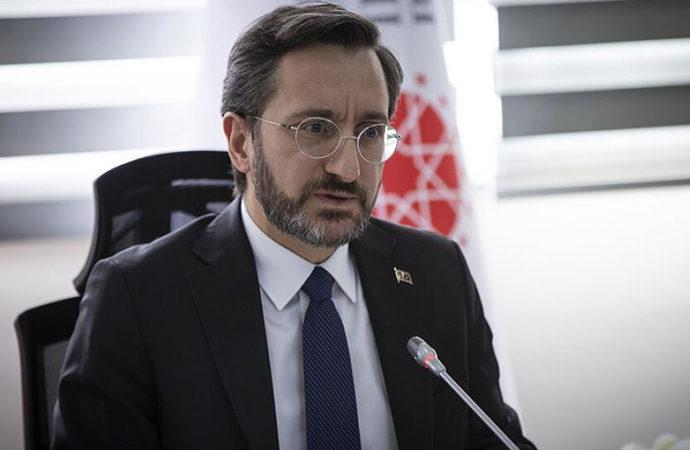 Fahrettin Altun: Demokrasimizi meze yaptırmayız!