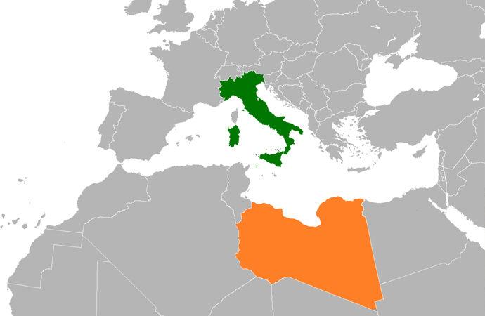 Libya temsilcileri İtalya'nın başkenti Roma'da bir araya geldi