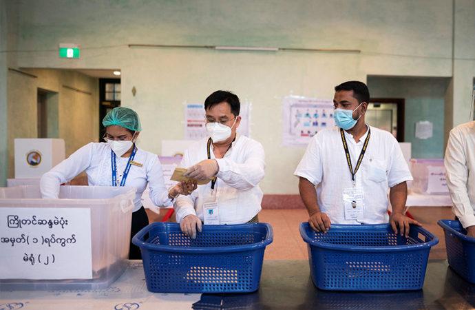 Myanmar yönetimi seçim sonuçlarını geçersiz saydı