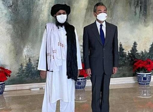 Taliban heyeti Çin'de