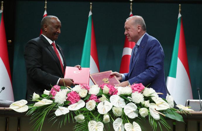 Türkiye ile Sudan arasında 6 alanda anlaşma imzalandı
