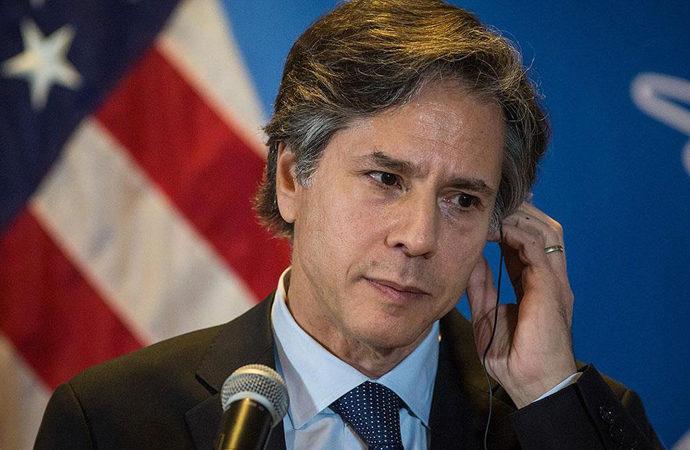 Blinken: Beğensek de beğenmesek de kontrol Taliban'da