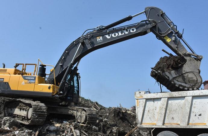 Bozkurt'tan 13 bin kamyon çamur çıkarıldı