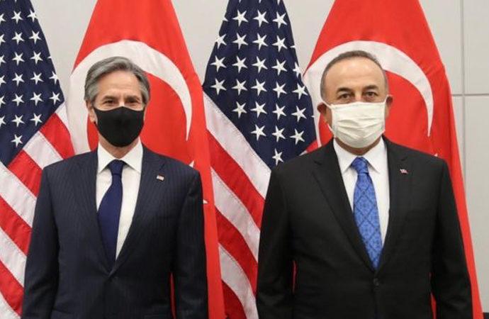 Çavuşoğlu, ABD'li Blinken ile görüştü