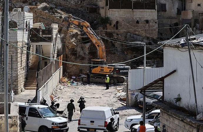 Doğu Kudüs'te Filistinlilere ait 81 binayı yıktılar