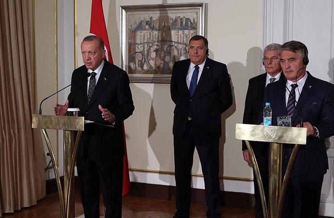 Erdoğan: DEAŞ farklı bir örgüt, Taliban farklı bir örgüt