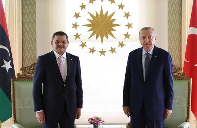 Erdoğan, Libya Başbakanını kabul etti